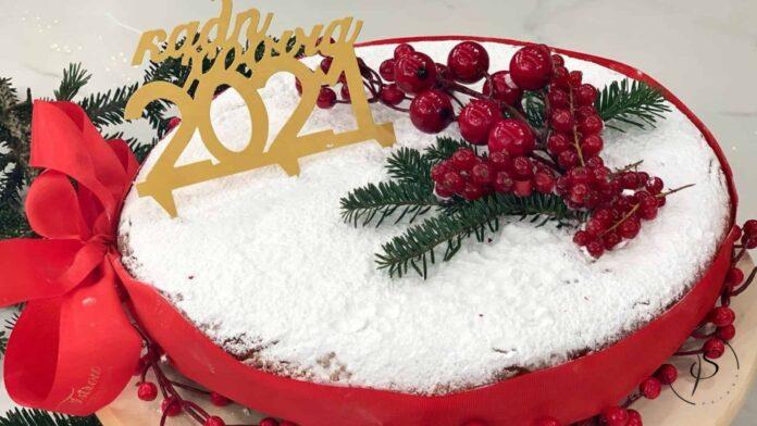 Βασιλόπιτα κέικ για το 2021