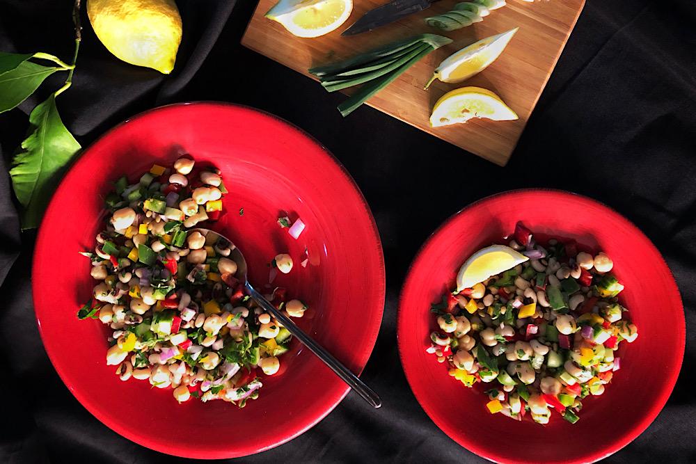 σαλάτα οσπρίων