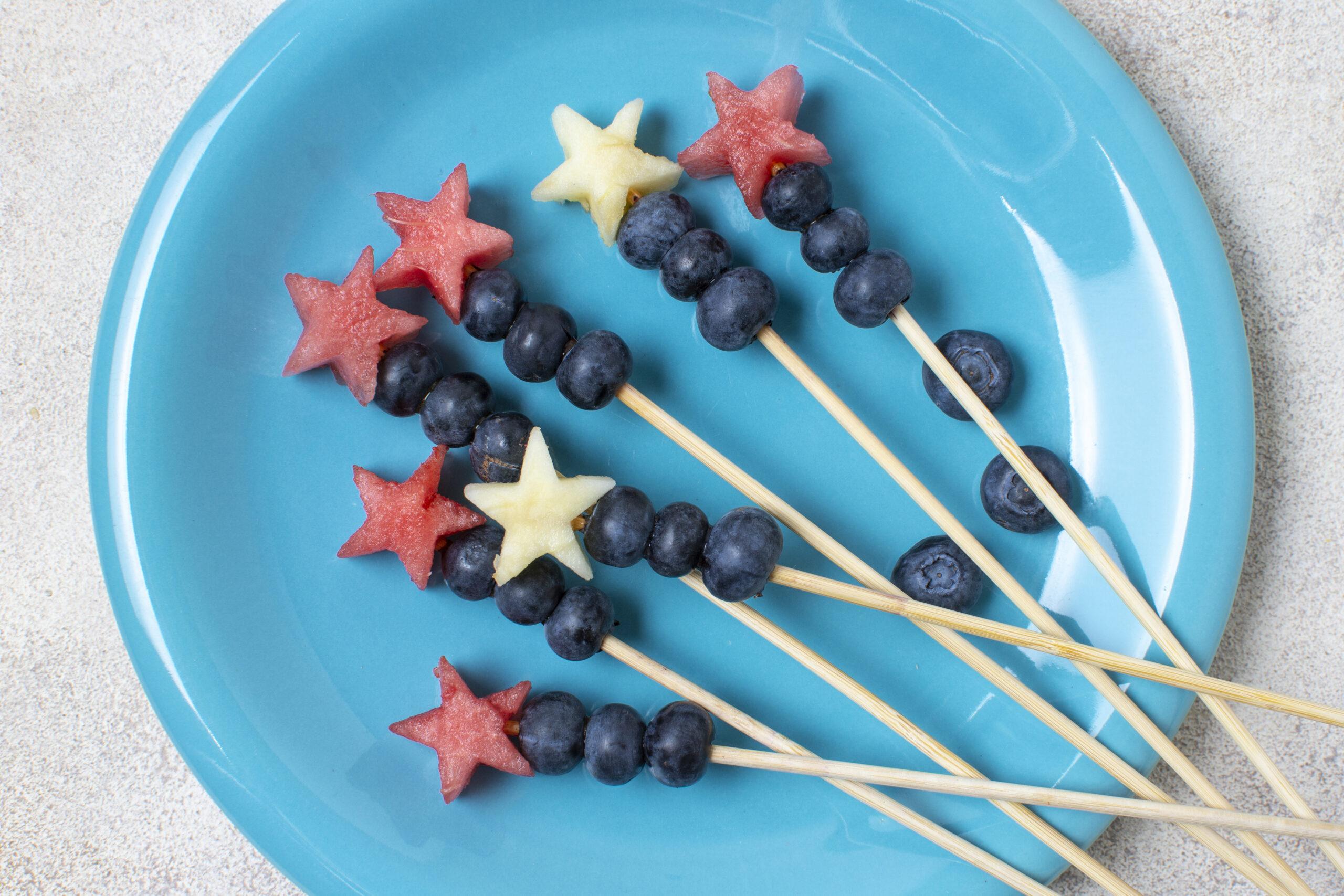 σνακ παραλίας για παιδιά - φρέσκα φρούτα