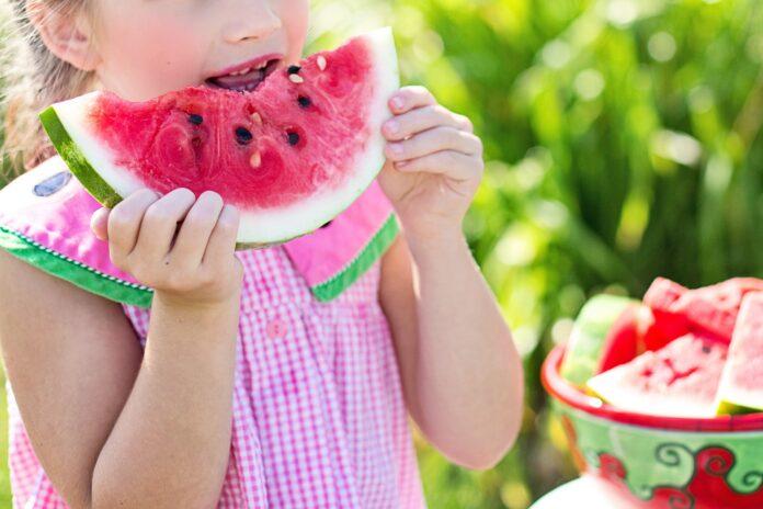 Υγιεινά και γρήγορα σνακ παραλία για παιδιά
